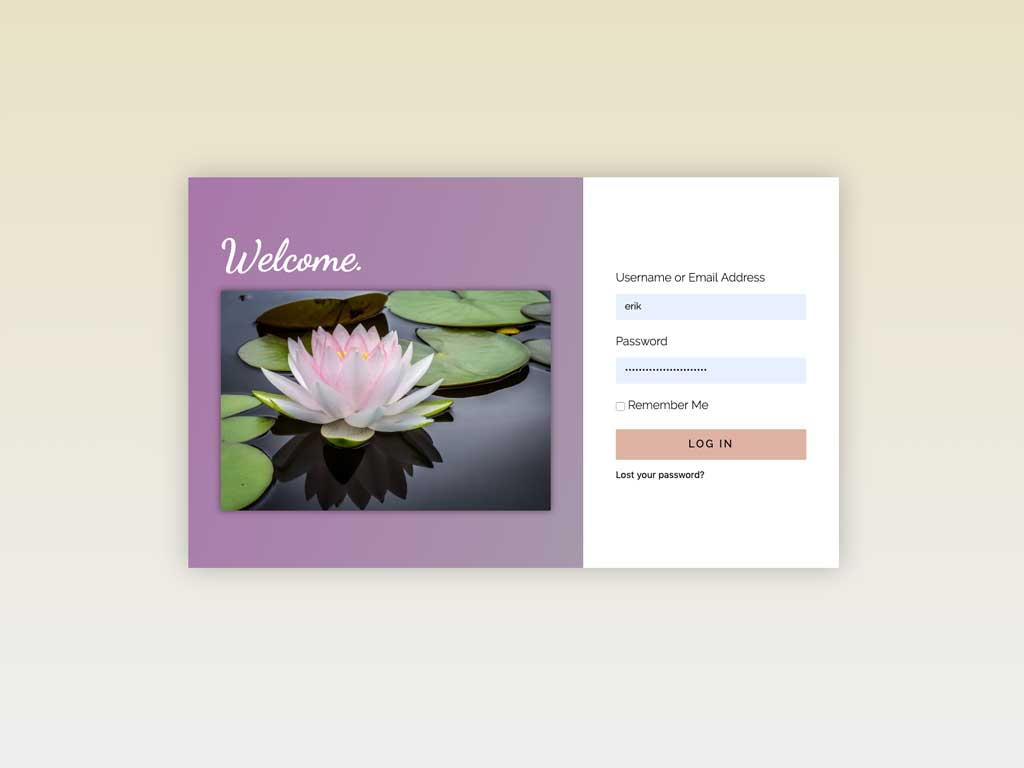 Brand aware login pages and popups