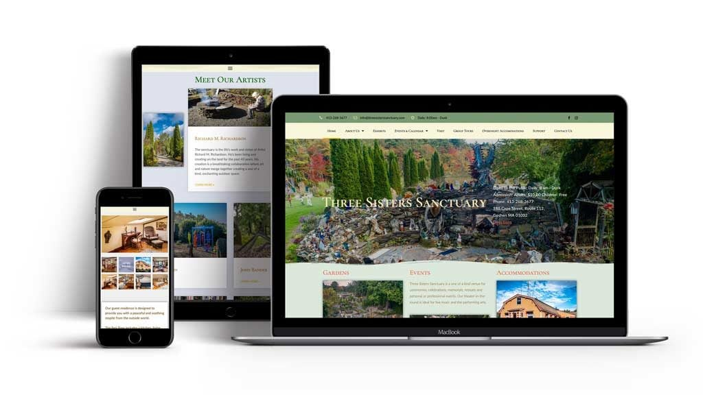 Your website on any device. Intelligent, responsive WordPress websites.